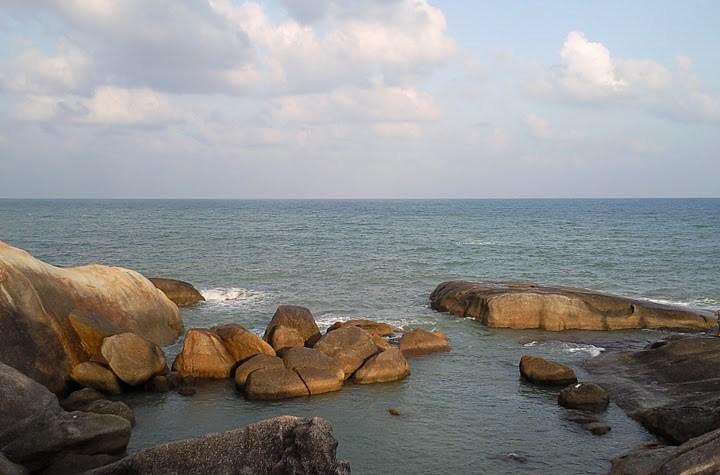 Beach in Koh Samui island