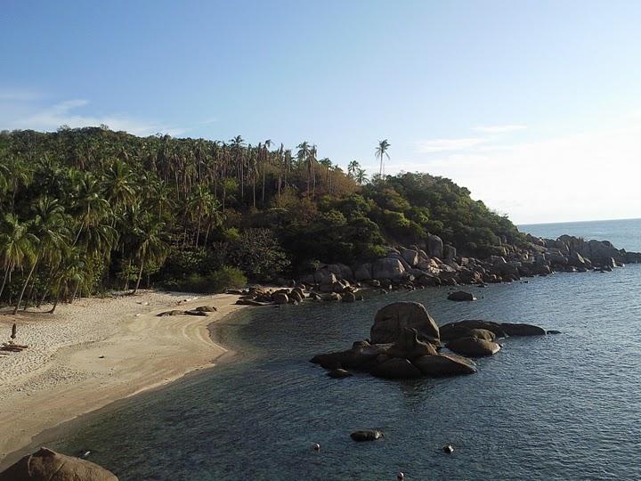 Beach in Koh Samui