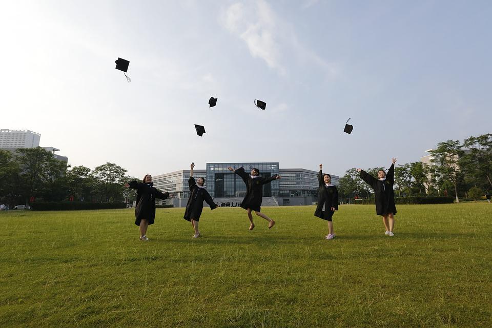 Graduation ceremony in Thailand