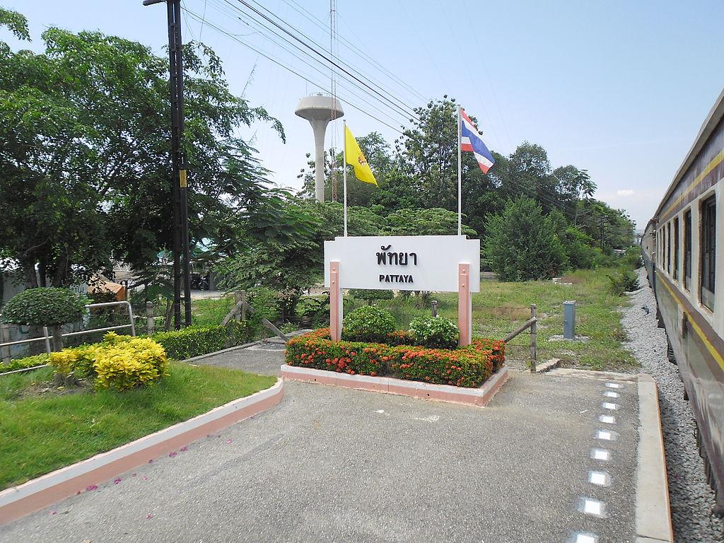 Pattaya Railway Station, Chon Buri