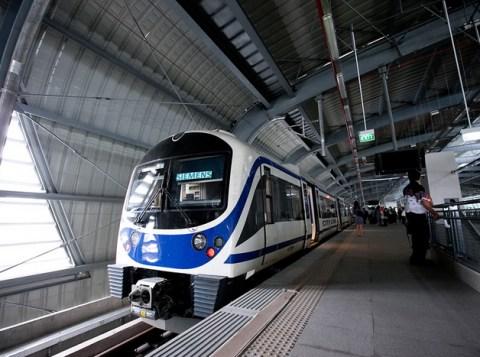 Bangkok Airport Rail Link train