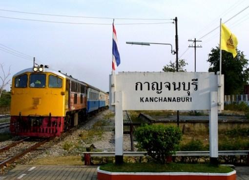 Kanchanaburi train station