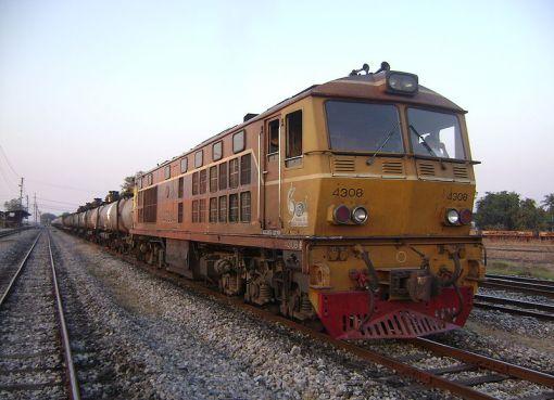 Thailand Freight train