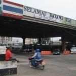 Sadao checkpoint in Danok, southern border with Malaysia