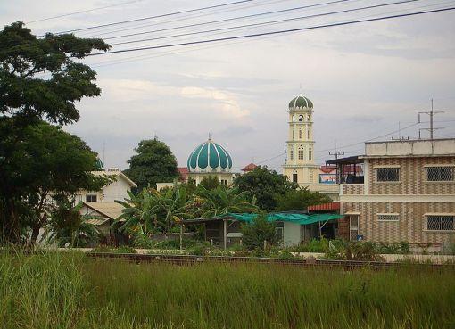 Pattaya mosque.