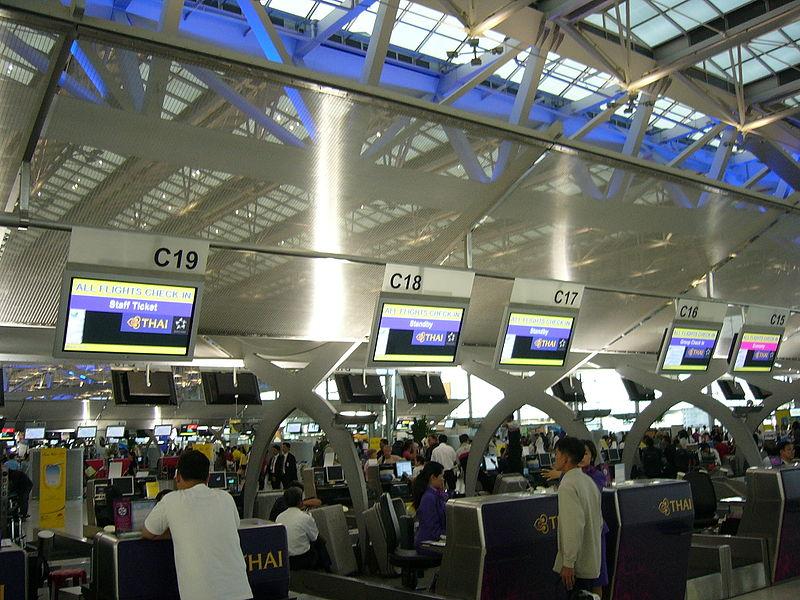 AOT Installs 180 Self Check-in Machines at Suvarnabhumi Airport