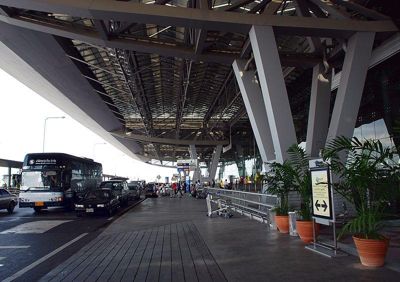 Traffic at Suvarnabhumi Airport