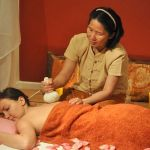 Herb balls massage in Thailand