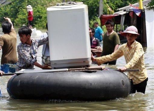 Floods in Ayutthaya