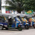 Tuk-tuks in Ubon Ratchathani
