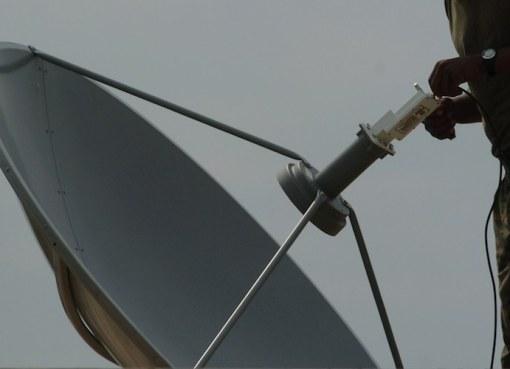 Satellite TV antenna