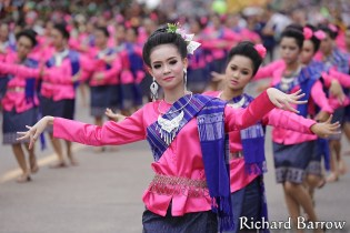 Candle Festival Parade in Ubon