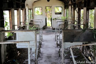 Old abandoned carriages