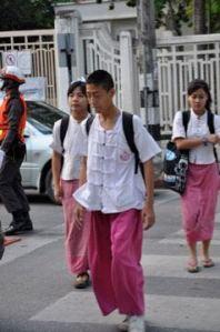 School kids Thai