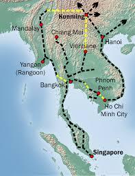 Singapore Kunming Railway