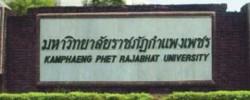 Kamphaengphet Rajabhat of Thailand
