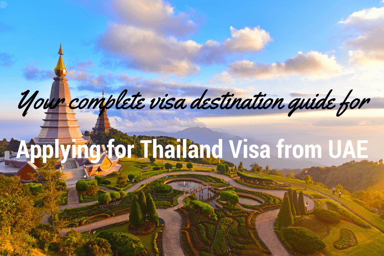 Applying for Thailand visa from UAE