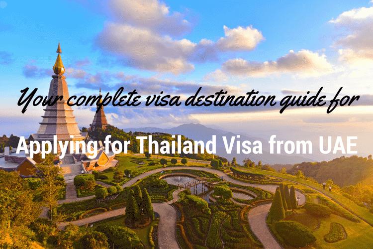 Applying for Thailand visa from UAE
