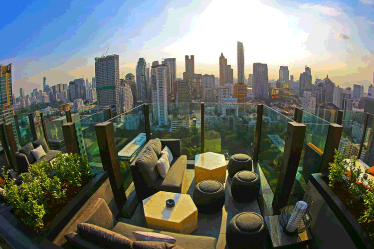 Char Rooftop Bar at Indigo Hotel Ploenchit