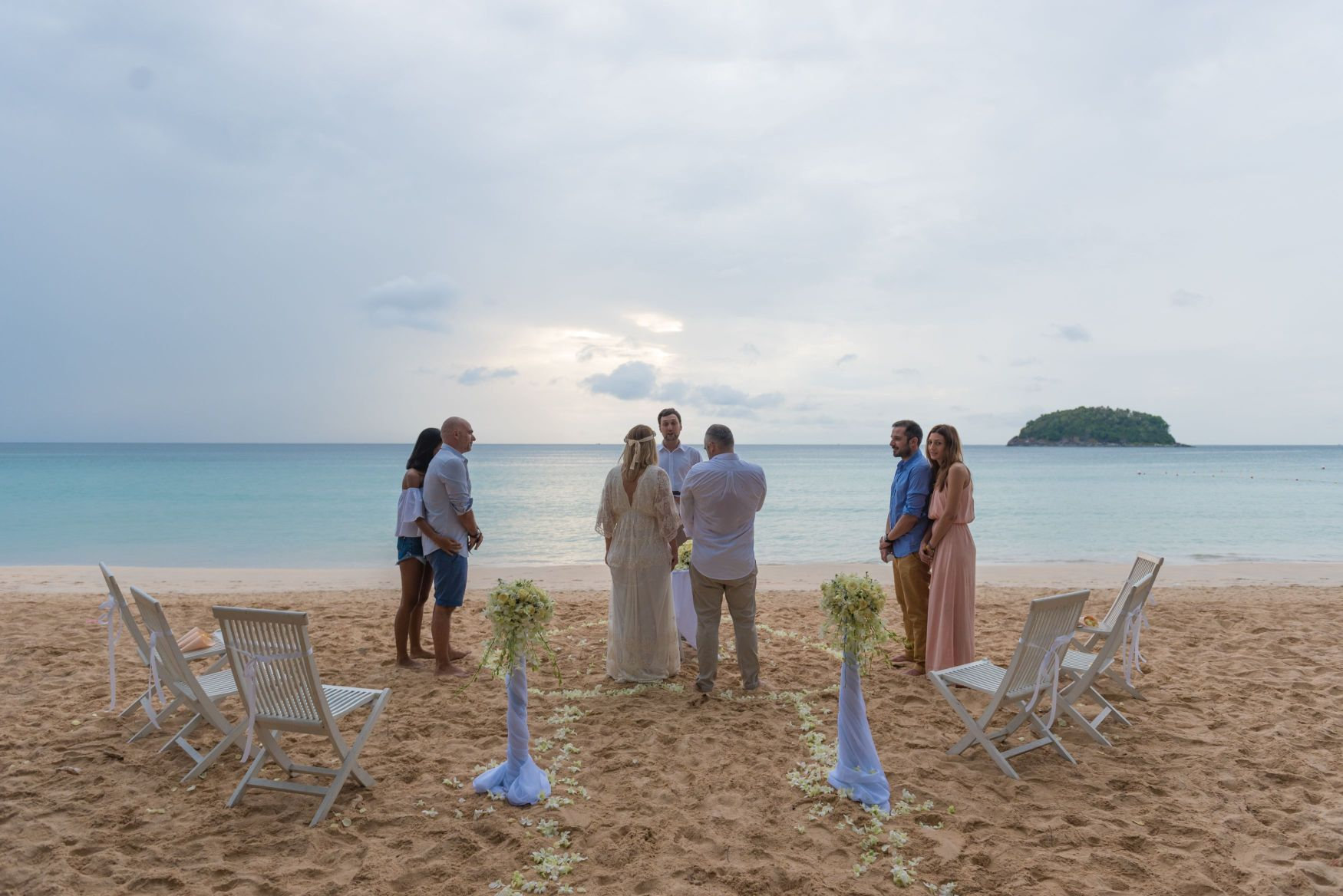 Thailand Weddings Planners and Packages of Phuket Kata Beach Weddings, Phuket