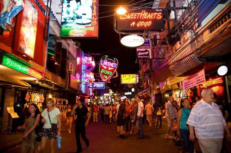Walking street attractions