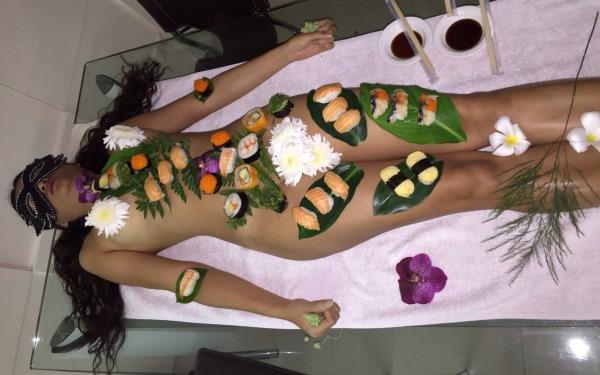 Private Naked Sushi Girl In Bangkok Thailand - Thaimbccom-1277