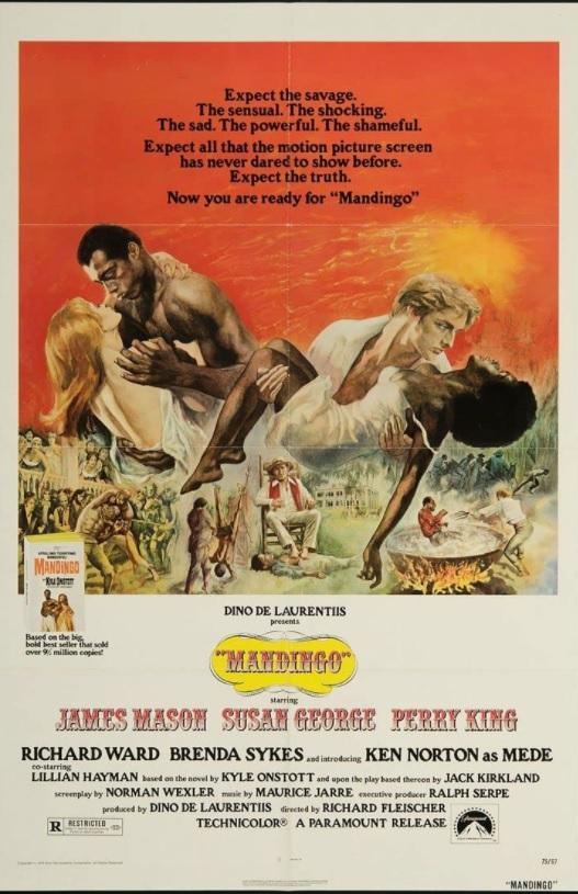 映画『マンディンゴ』のポスター