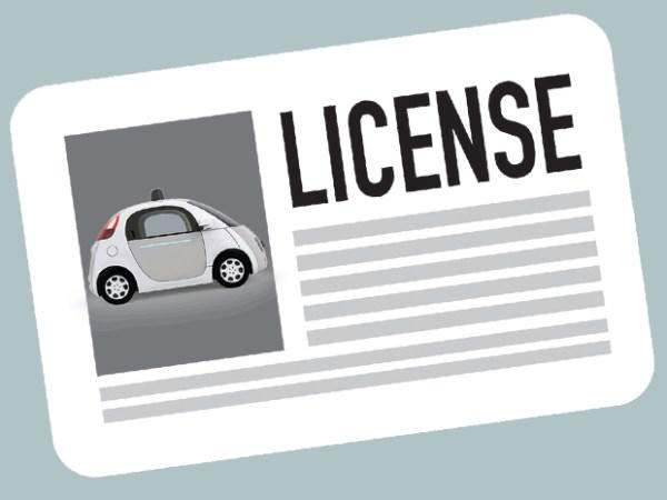 License-googlecar