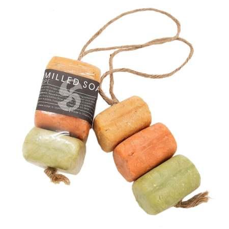 三入麻繩造型手工皂-果香120g