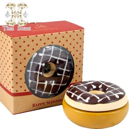 【買一送一】巧克力甜甜圈擴香瓶禮盒