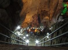 Hlavní sál jeskyně Erawan
