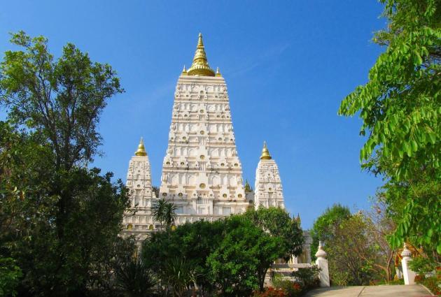 Wat Tham Puang - kopie Bodhgaja - Thajsko