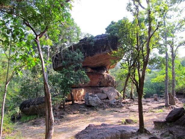 Phu Phrabat Historical Park - skalni formace