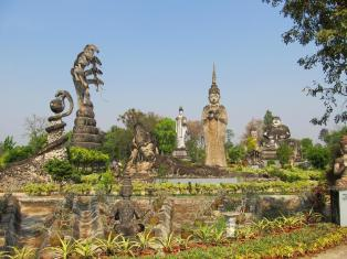 Sala Kaew Koo - Nong Khai - Thajsko