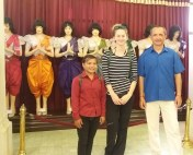 V Královském paláci Phnom Penh