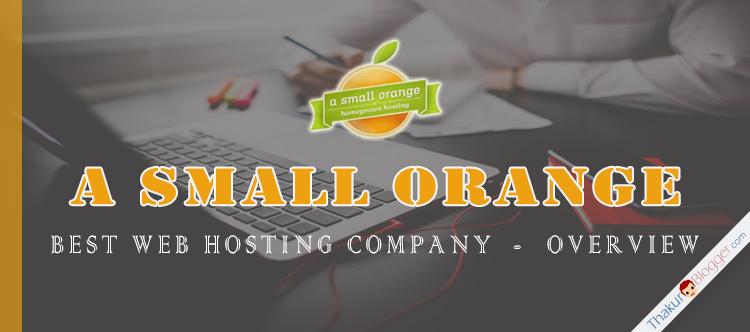 A Small Orange - Best Web Hosting Plans | Thakur Blogger