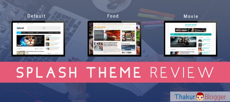 Splash Theme review - All in one Wordpress blogging theme
