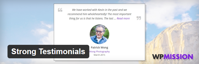 Strong Testimonials Plugin for WordPress How to add testimonials in WordPress