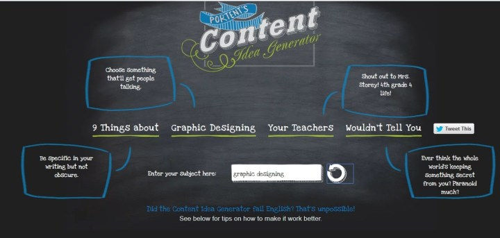 Free Blog Title Generator Tools