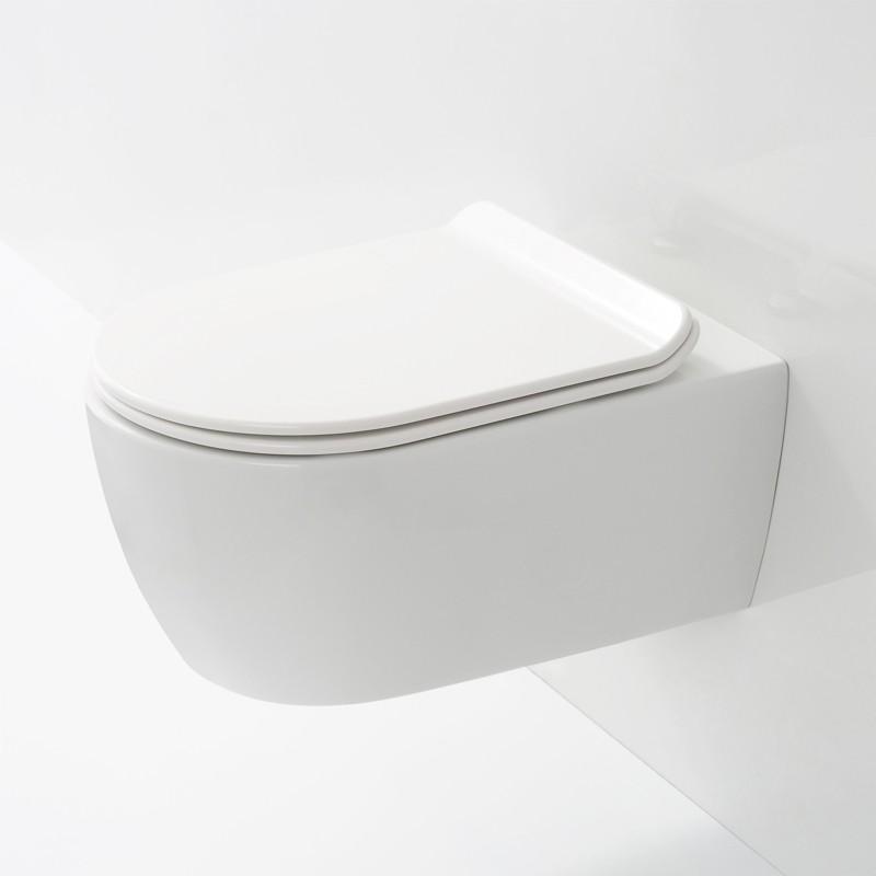 wc suspendu sans bride compact