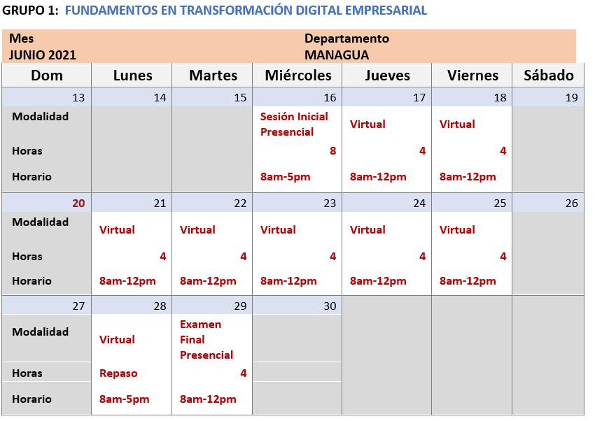 TRASNFORMACION DIGITAL G1