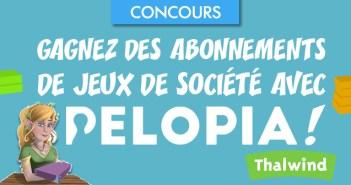 Gagnez des abonnements de jeux de société avec Pelopia