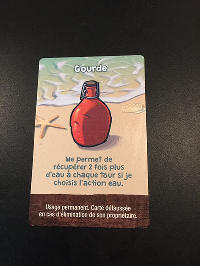 Jouer un objet permanent dans Galèrapagos