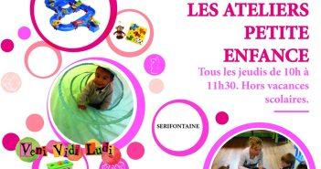 Les ateliers Jeux - Petite Enfance