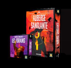 L'Auberge sanglante et son extension Les Forains