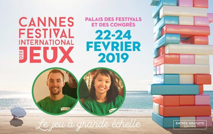 Thalwind au festival international des jeux à Cannes