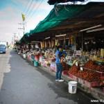 Food Souvenir Stalls from Chanthaburi Along Sukhumwit