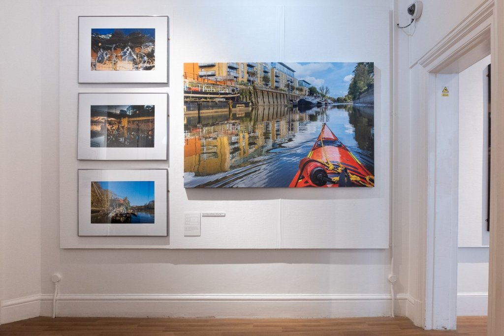 The River Within - London. Exhibition at the Riverside Gallery 2019