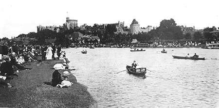 The Thames at Windsor 1900s