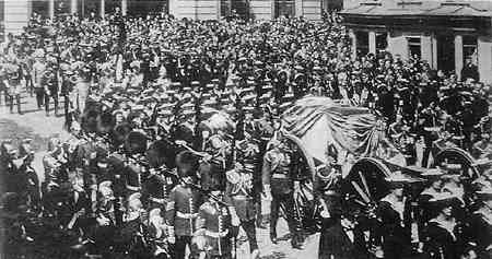 Image result for King Edward VII funeral